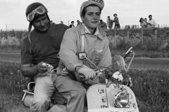 Fangio en Lambretta