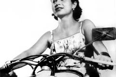Nely Rivas en Siambretta