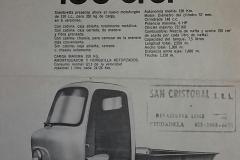 Siambretta 150 Motofurgon
