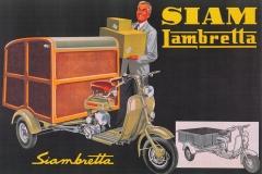 """Publicidad Siamlambretta """"Ud puede tenerla"""" (motofurgon) - Nueva versión"""