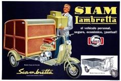 """Publicidad Siamlambretta """"Ud puede tenerla"""" (motofurgon)"""