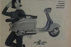 Publicidad de Lambretta LI 150 de Guido Guidi