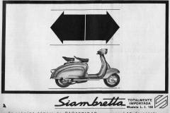 Siambretta LI 150 Revista Parabrisas