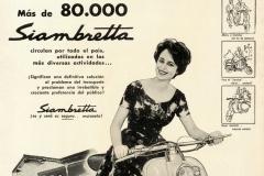 Publicidad de las 80000 Siambrettas (mujer)