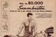 Publicidad de las 80000 Siambrettas (hombre)