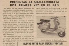 Presentación de la Siamlambretta