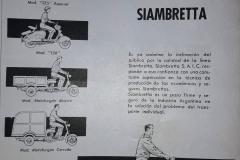 Publicidad de Linea Siambretta