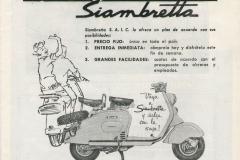"""Siambretta """"3 ventajas"""""""