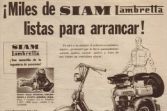 """Publicidad """"Miles de Siamlambrettas"""""""