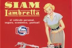 """Publicidad Siamlambretta """"Ud puede tenerla"""" (mujer)"""