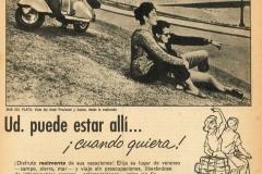 """Publicidad de Siambretta """"Ud puede estar allí"""" 2"""