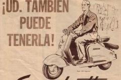 """Publicidad """"Ud puede tenerla"""" (BN)"""